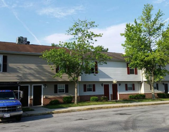 street view of newly installed tamko shingles apartment duplex
