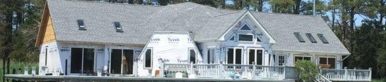 large maryland home getting new asphalt roof