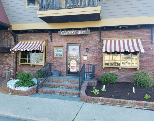 restaurant in ocean city maryland with new James Hardie siding and copper flashing