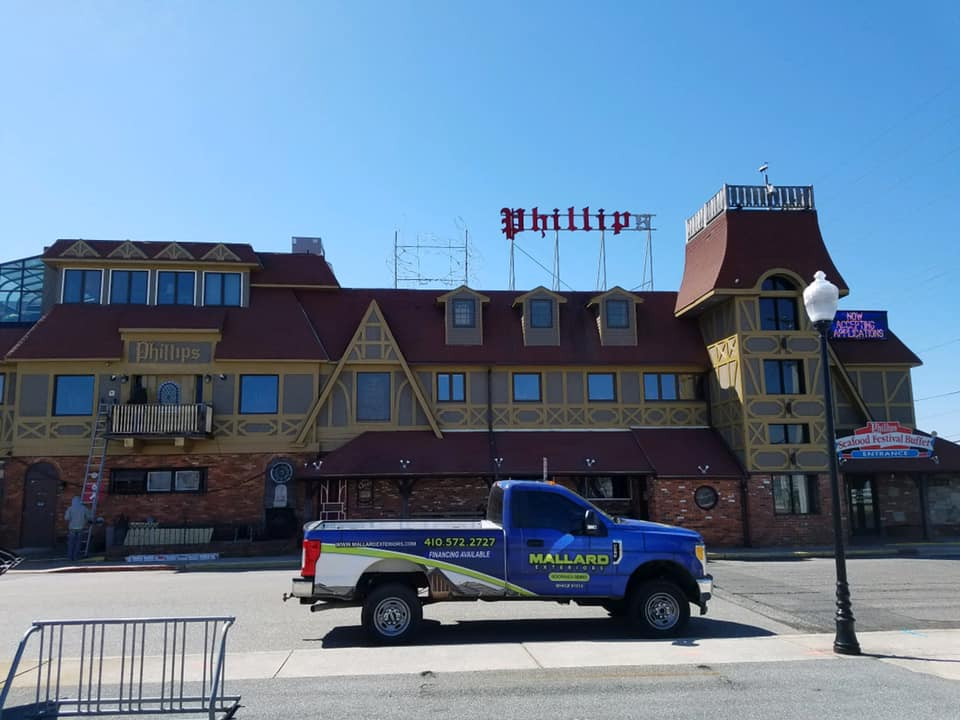 Phillips Crab House Soffit And Fascia Replacement