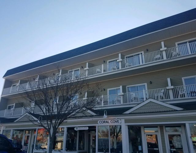 completed siding project in Rehoboth Beach